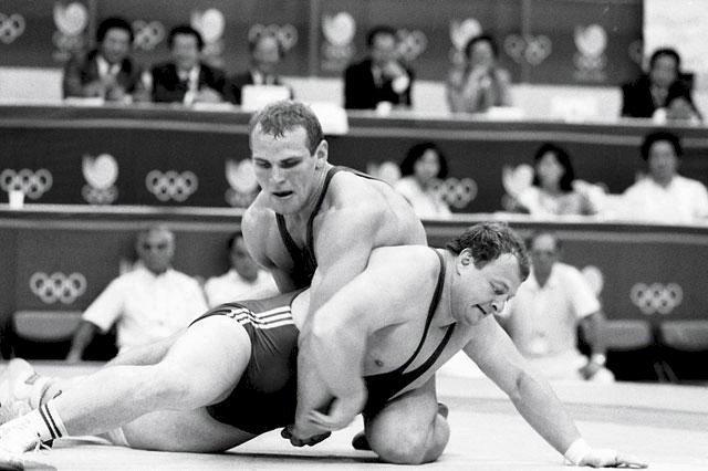 Александр Карелин на Олимпийских играх в Сеуле