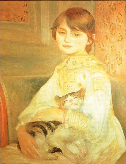 "Картина "" Мадонна с кошкой"""