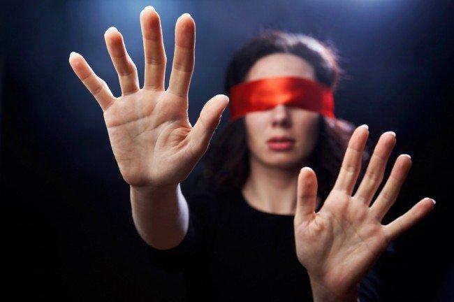 слепые и человечество