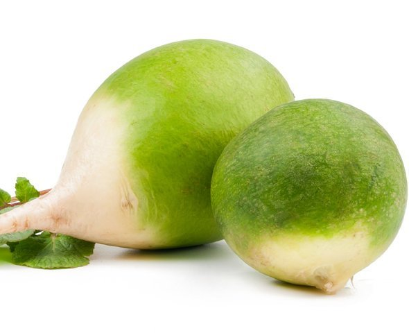 зеленая редька