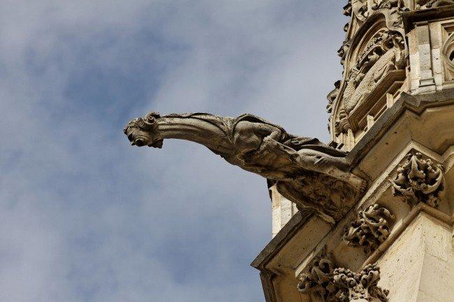 Гаргулья (гаргуйль) - архитектурная деталь
