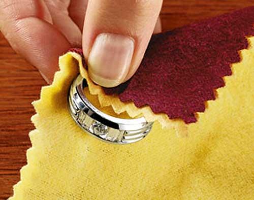 Как отмыть серебро в домашних условиях