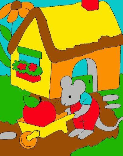 Какие составить предложения со словом мышь?