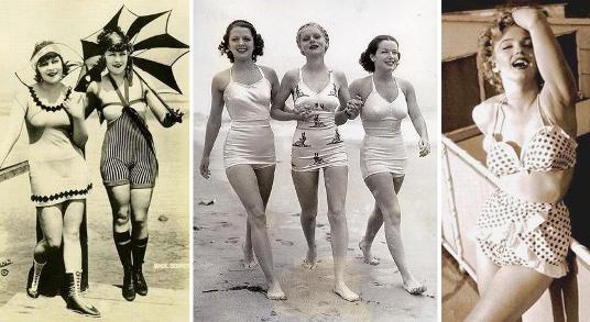 купальники-бестселлеры разных времен
