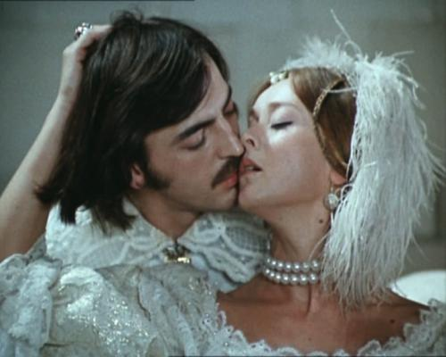 Маргарита Терехова и Михаил Боярский.
