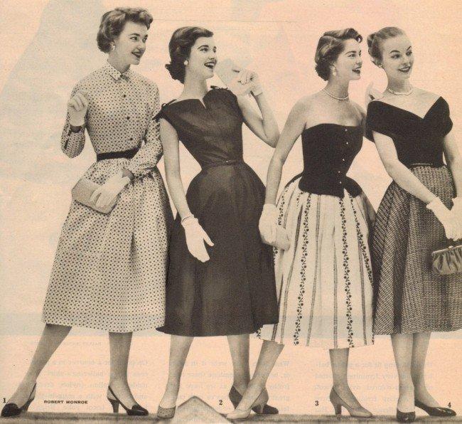 одежда из бабушкиного сундука