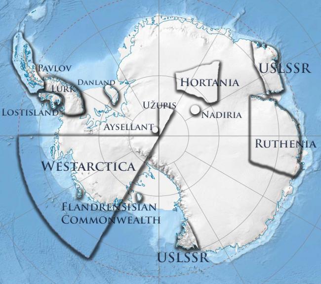 государства на северном полюсе: мир