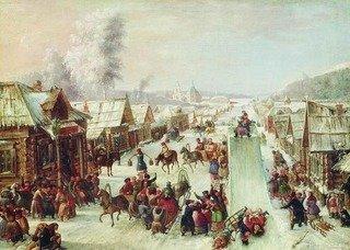 Какой смысл катания горок был на Руси ?