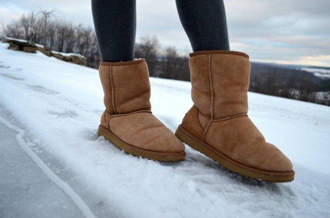 Угги - некрасивая обувь