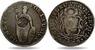 Старинная монета в Португалии
