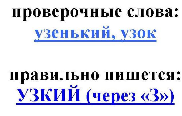 правописание слова