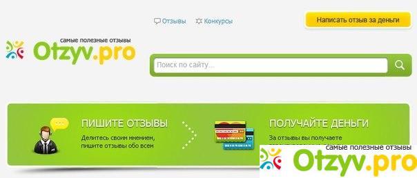 доходы на Отзывпро