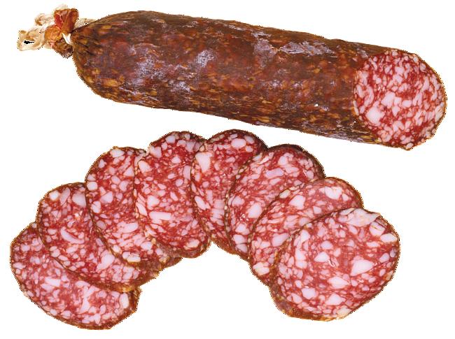 колбаса в натуральной оболочке