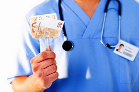 взятки врачам