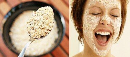 Рецепт простой маски из овсянки