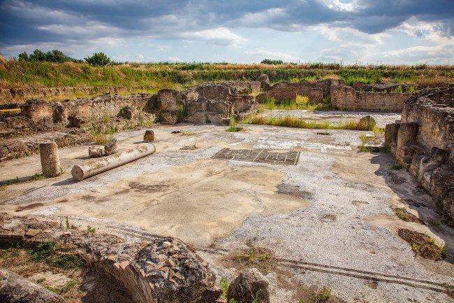 Раскопки в Сибарисе