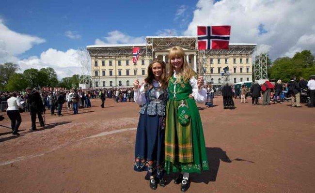 Счастливые люди Норвегии.
