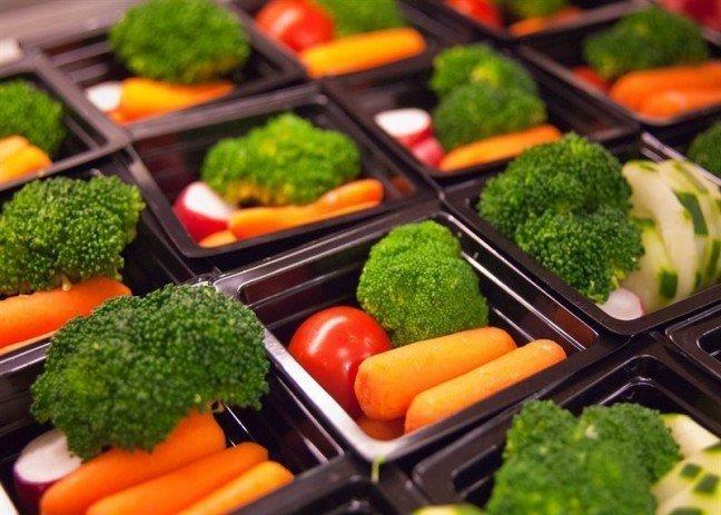 Еда здоровая и вкусная