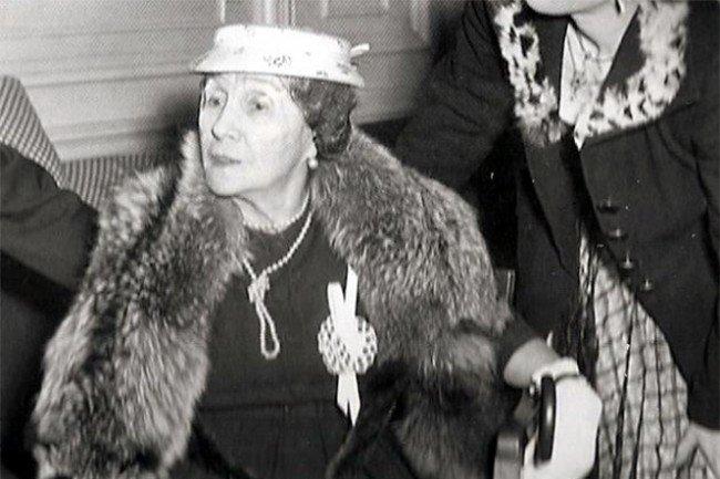 Матильда Кшесинская в возрасте