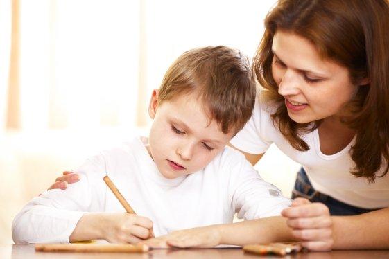 помощь ребенку при выполнении заданий