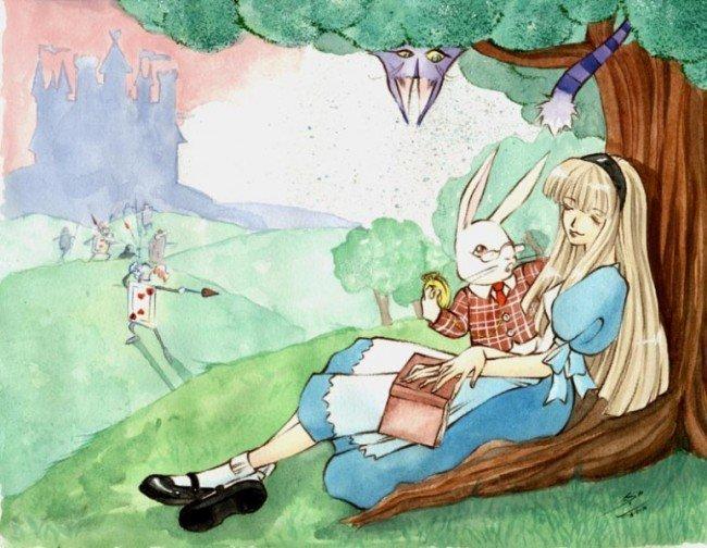 Алиса и кролик
