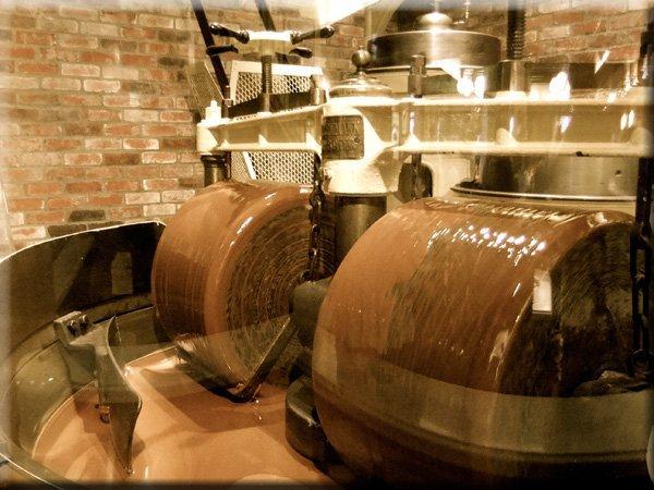 Конширование - этап производства шоколада