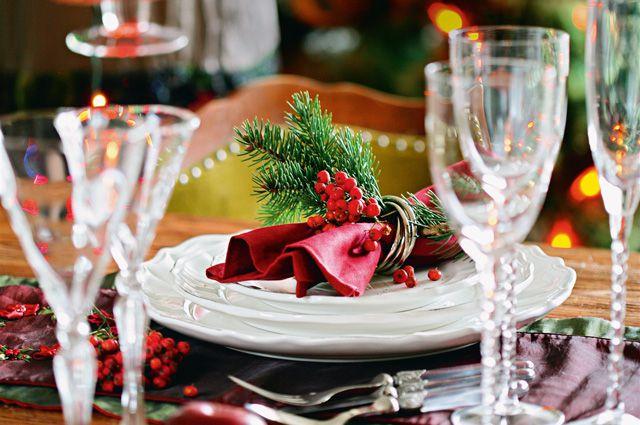 Накрыть новогодний стол