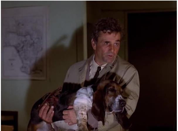 "Кадр из фильма ""Коломбо""."