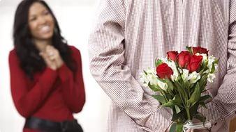 Дарить цветы на свидании