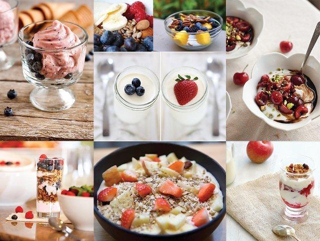 Завтрак, продукты и блюда для завтрака