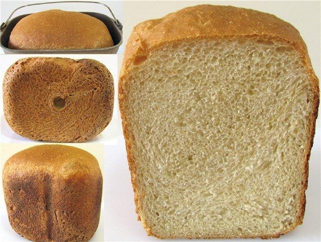 хлеб из крупчатки