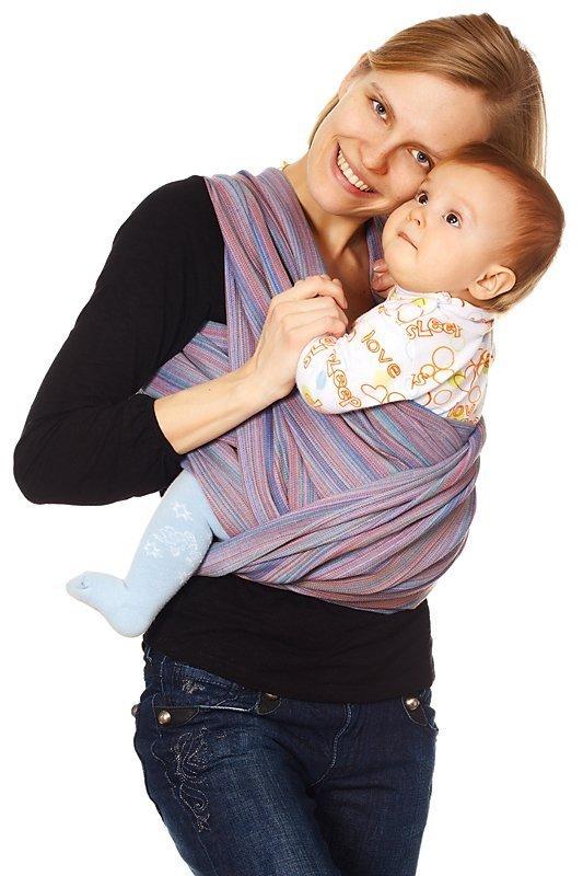 слинг-шарф: плюсы и минусы