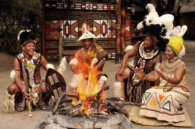 До сих пор существуют племена, для которых норма - прием пищи один раз в день после удачной охоты.