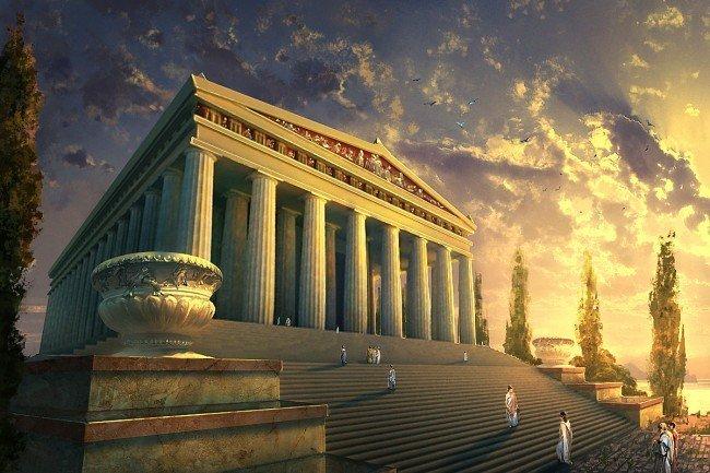 Храм Артемиды Эфесской, приглянувшийся Герострату, его современники относили к Семи чудесам света.