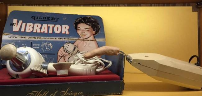 Экспонат музея секс-устройств.
