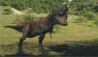 Тираннозавр - самый крупный хищник