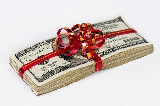 Налог за подарки в конкурсе