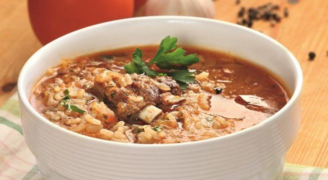 грузинский суп