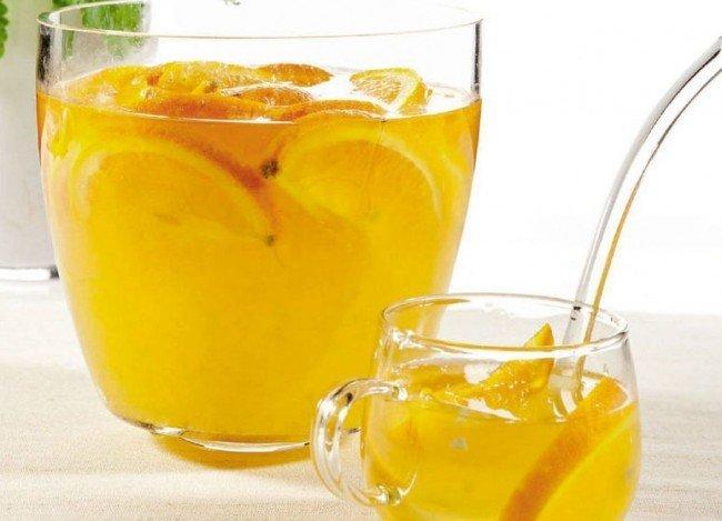 пунш с мандаринами