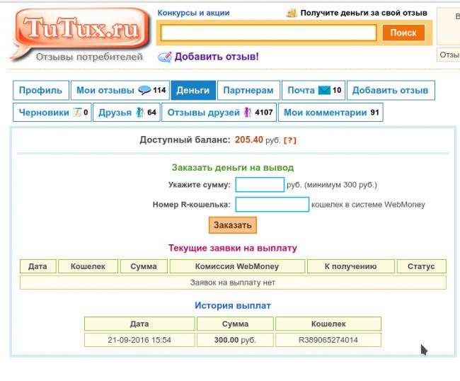 Сайт отзывов Тутукс