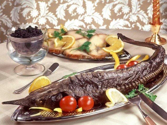 запеченная деликатесная рыбка