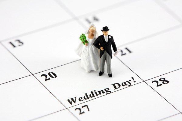 день и месяц свадьбы