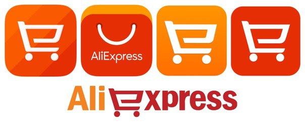 Логотип интернет магазина Алиэкспресс