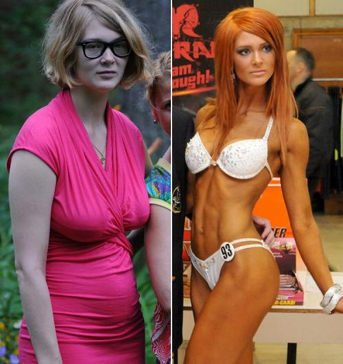мария цкирия фото до и после
