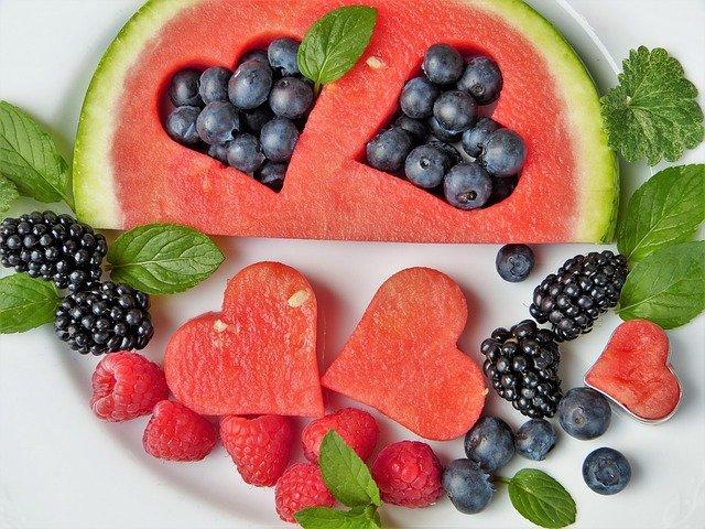 ягоды и здоровое питание