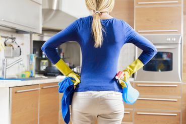 между делом, уборка дома