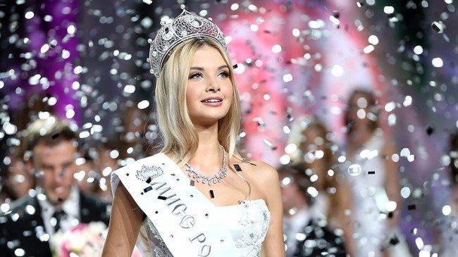 Полина попова - Мисс Россия - 2017.