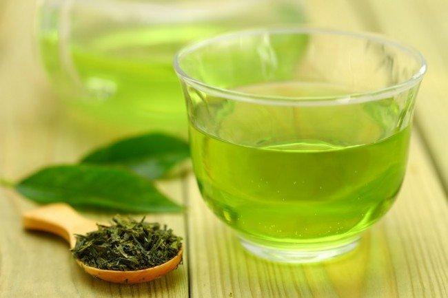 зелёный чай влияет на организм