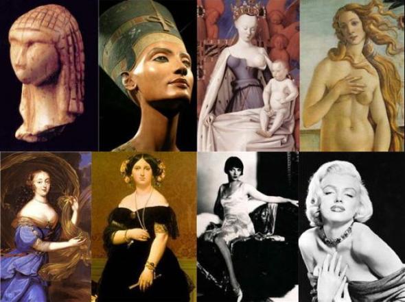 как менялось понятие красоты