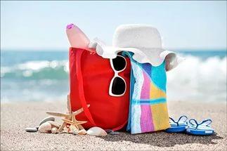 сборы на пляж